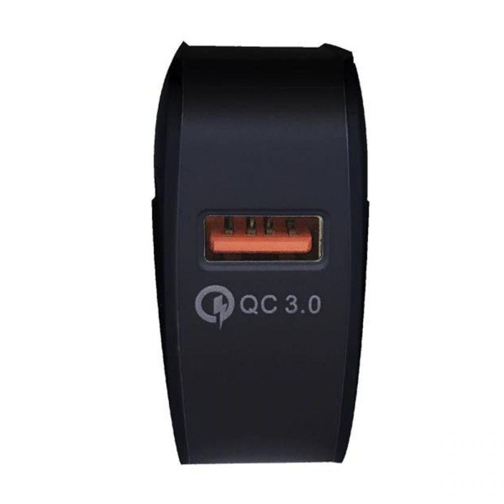 ΦΟΡΤΙΣΤΗΣ ΚΙΝΗΤΟΥ POWER ON CH-80K V 3.0 BLACK USB 050166