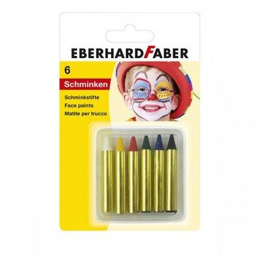 EBERHARD FABER ΧΡΩΜΑΤΑ ΠΡΟΣΩΠΟΥ ΜΙΝΙ 6 ΧΡΩΜΑΤΩΝ EBERHARD FABER