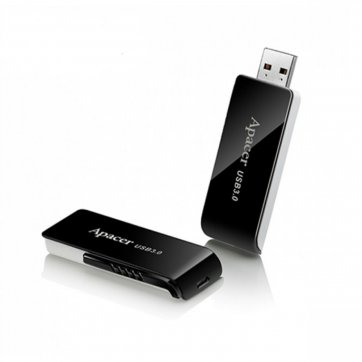 Apacer USB FLASH APACER AH350 64GB 3.1 ΜΑΥΡΟ