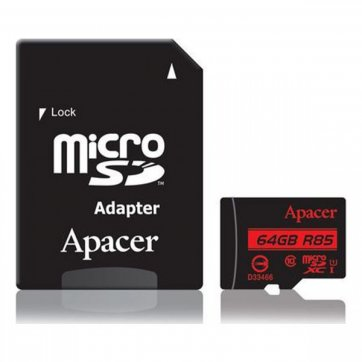 Apacer MICRO SD 64GB CLASS 10 APACER