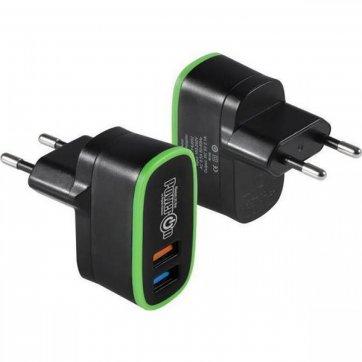 POWER ON ΦΟΡΤΙΣΤΗΣ USB ΤΟΙΧΟΥ 2 ΘΥΡΕΣ POWER ON ΜΑΥΡΟ