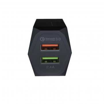 POWER ON ΦΟΡΤΙΣΤΗΣ USB ΤΟΙΧΟΥ POWER ON 1 ΘΥΡΕΣ CH-85 ΜΑΥΡΟ