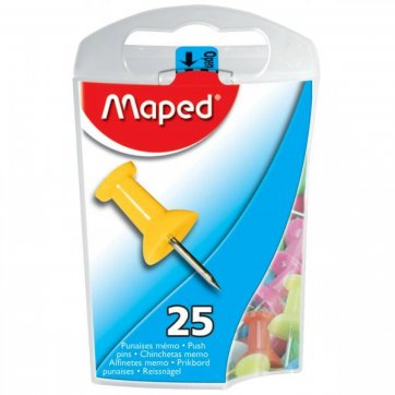 MAPED ΠΙΝΕΖΕΣ ΚΩΝΟΣ 10mm*25τεμ MAPED OFFICE