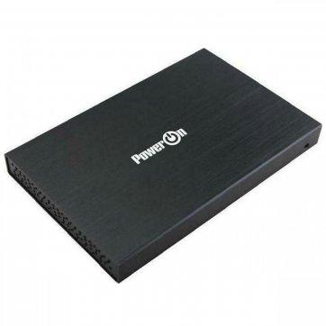 POWER ON ΘΗΚΗ HDD 2.5'' SATA POWER ON USB 2.0 EC-100