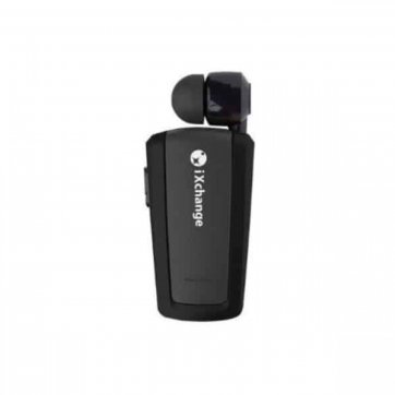 iXchange BLUETOOTH iXchange RETRACTABLE MINI HEADSET ΜΑΥΡΟ UA-25XB
