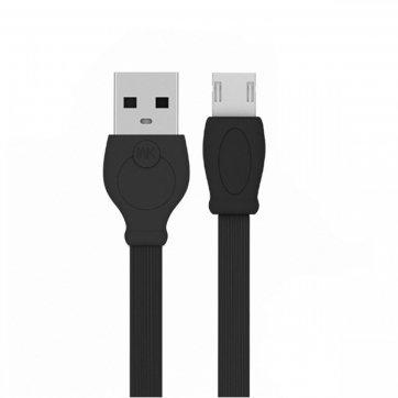 WK DESIGN ΚΑΛΩΔΙΟ WK FAST 3000 3m MICRO USB ΜΑΥΡΟ WDC-023