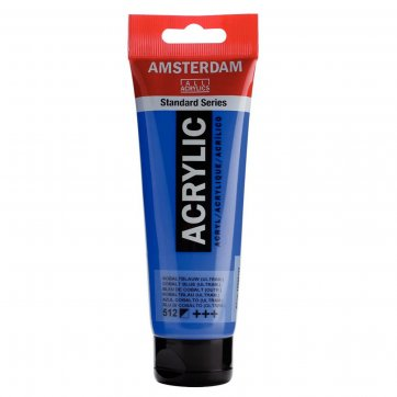 AMSTERDAM ΑΚΡΥΛΙΚΟ ΧΡΩΜΑ AMSTERDAM 120ML 512 COBALT BLUE (ULTRM.)