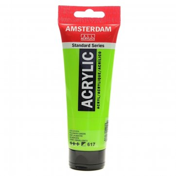 AMSTERDAM ΑΚΡΥΛΙΚΟ ΧΡΩΜΑ AMSTERDAM 120ML 617 YELLOWISH GREEN