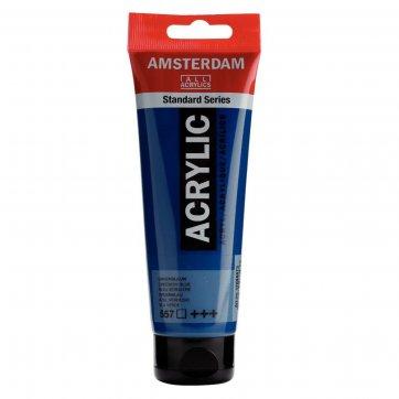 AMSTERDAM ΑΚΡΥΛΙΚΟ ΧΡΩΜΑ AMSTERDAM 120ML 557 GREENISH BLUE