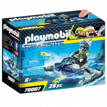 PLAYMOBIL PLAYMOBIL AQUA SCOOTER ΤΗΣ SHARK TEAM 70007