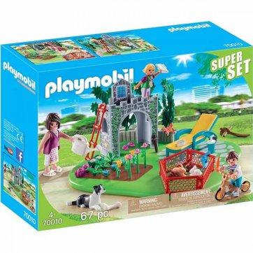 PLAYMOBIL PLAYMOBIL ΟΙΚΟΓΕΝΕΙΑΚΟΣ ΚΗΠΟΣ 70010