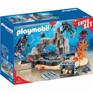PLAYMOBIL PLAYMOBIL CITY ACTION SUPERSET ΟΜΑΔΑ ΥΠΟΒΡΥΧΙΩΝ ΑΠΟΣΤΟΛΩΝ 70011