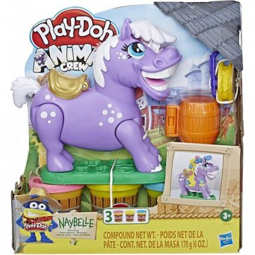 HASBRO	 PLAY-DOH ANIMAL CREW NAYBELLE SHOW PONY