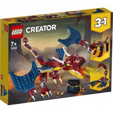 LEGO LEGO CREATOR FIRE DRAGON 31102