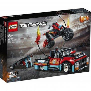 LEGO LEGO STUNT SHOW TRUCK AND BIKE 42106