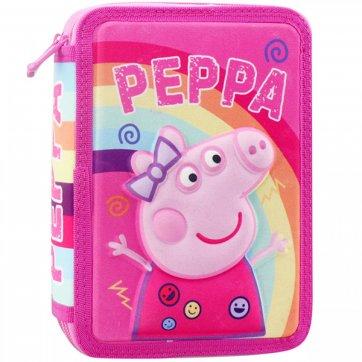ΔΙΑΚΑΚΗΣ ΚΑΣΕΤΙΝΑ ΔΙΠΛΗ ΓΕΜΑΤΗ 3D PEPPA PIG 482513