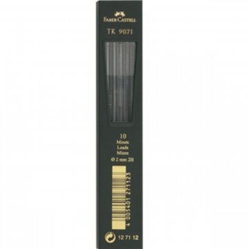 FABER - CASTELL ΜΥΤΕΣ FABER CASTELL 2,0mm 2H 9071/10 127112