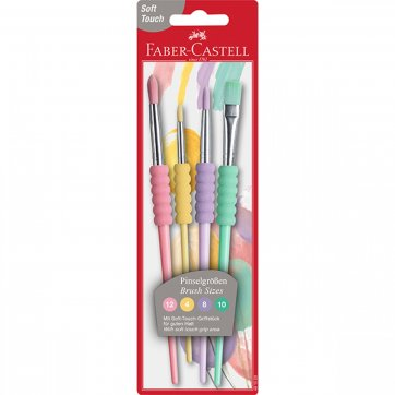 FABER - CASTELL ΠΙΝΕΛΑ ΖΩΓΡΑΦΙΚΗΣ FABER-CASTELL ΣΕΤ 4ΤΕΜ ΣΕ BLISTER 481620