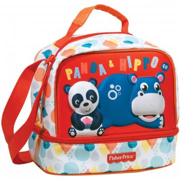 Fisher-Price ΤΣΑΝΤΑΚΙ ΦΑΓΗΤΟΥ FISHER PRICE PANDA & HIPPO 349-07220