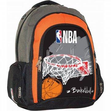 BACK ME UP ΤΣΑΝΤΑ ΠΛΑΤΗΣ ΟΒΑΛ NBA RED BASKET 338-41031
