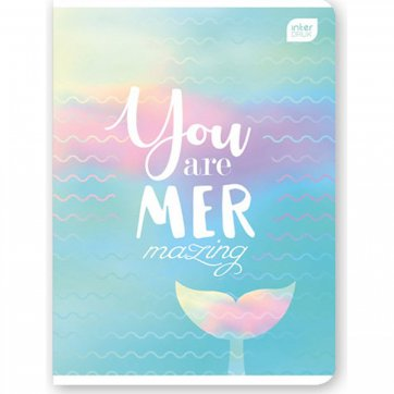 INTERDRUCK ΤΕΤΡΑΔΙΟ ΣΠΙΡΑΛ 4Θ Α4 120Φ INDERDRUCK YOU ARE MARE MAZING