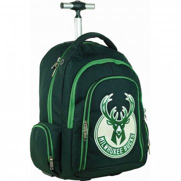 BACK ME UP ΣΑΚΙΔΙΟ TROLLEY BMU NBA MILWAUKEE BUCKS 338-49074