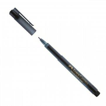 FABER - CASTELL ΜΑΡΚΑΔΟΡΟΣ BROADPEN FABER-CASTELL 0.8 mm ΜΑΥΡΟ 155499