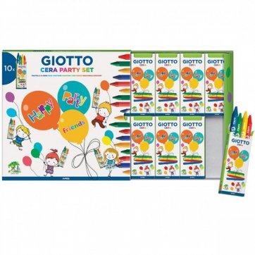 GIOTTO PARTY GIFT BOX 10ΣΕΤ ΑΠΟ 4 ΚΗΡΟΜΠΟΓΙΕΣ GIOTTO 311000
