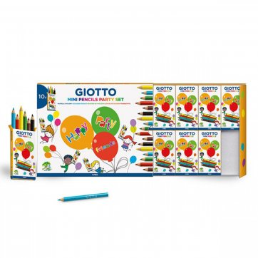 GIOTTO PARTY GIFT BOX 10ΣΕΤ ΑΠΟ 6 ΞΥΛΟΜΠΟΓΙΕΣ GIOTTO 312000