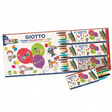 GIOTTO PARTY GIFT BOX 12ΣΕΤ ΑΠΟ 6 ΜΑΡΚΑΔΟΡΟΙ GIOTTO 314000