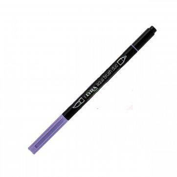 LYRA ΜΑΡΚΑΔΟΡΟΣ ΠΙΝΕΛΟ AQUA BRUSH DUO 4mm - 2mm VIOLETTO CHIARO 39