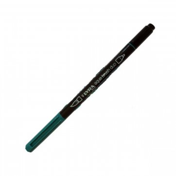 LYRA ΜΑΡΚΑΔΟΡΟΣ ΠΙΝΕΛΟ AQUA BRUSH DUO 4mm - 2mm BLU COBALTO VERDASTRO 52