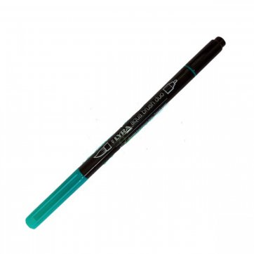 LYRA ΜΑΡΚΑΔΟΡΟΣ ΠΙΝΕΛΟ AQUA BRUSH DUO 4mm - 2mm VERDE FRANCESE 62
