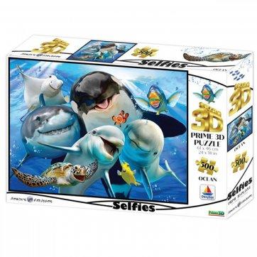 Prime3D ΠΑΖΛ - 3D HOWARD ROBINSON - OCEAN SELFIE 500ΤΕΜ 10059