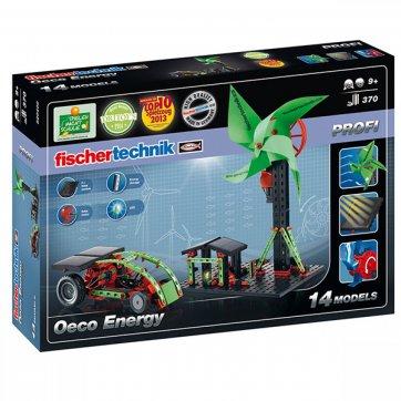 FISCHERTECHNIK ECO ENERGY - WIND, WATER, SOLAR MODELS - EDUCATIONAL KIT 520400