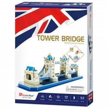 CubicFun ΠΑΖΛ - 3D TOWER BRIDGE 52ΤΕΜ CF0238