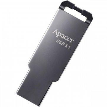 Apacer USB FLASH APACER AH360 32GB 3.1 ΜΑΥΡΟ