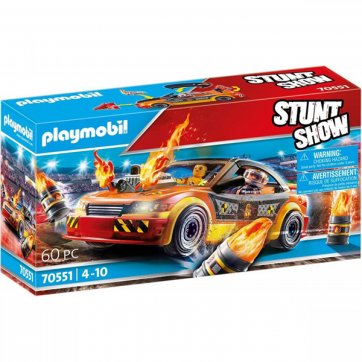 PLAYMOBIL PLAYMOBIL STUNT SHOW CRASH CAR ΟΧΗΜΑ ΑΚΡΟΒΑΤΙΚΩΝ 70551
