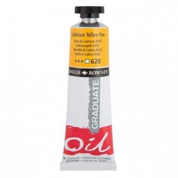 DALER ROWNEY DALER ROWNEY GRADUATE OIL 38ML CADMIUM YELLOW HUE 620