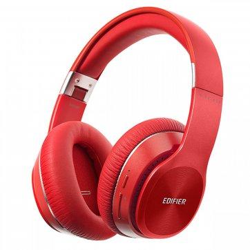 EDIFIER ΑΚΟΥΣΤΙΚΑ HEADPHONE EDIFIER W820BT R BLUETOOTH RED