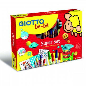 GIOTTO ΣΕΤ ΖΩΓΡΑΦΙΚΗΣ GIOTTO MY BE-BE MAXI SET