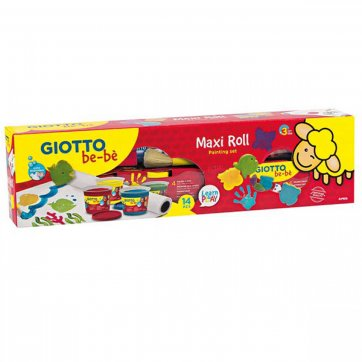 GIOTTO GIOTTO BE-BE ΣΕΤ ΖΩΓΡΑΦΙΚΗΣ MAXI ROLL PAINTING SET