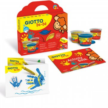 GIOTTO ΔΑΚΤΥΛΟΜΠΟΓΙΕΣ GIOTTO BE-BE 3τμχ x 100ml & ACTIVITY BOOK 0460700