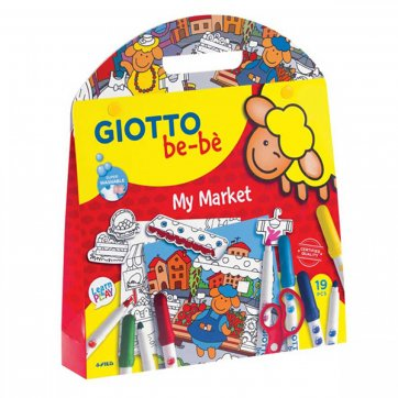 GIOTTO ΣΕΤ ΖΩΓΡΑΦΙΚΗΣ GIOTTO BE-BE MY MARKET 103631