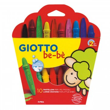 GIOTTO ΚΗΡΟΜΠΟΓΙΕΣ GIOTTO BE-BE ASS 10τεμ. ΜΕ ΞΥΣΤΡΑ 0466800