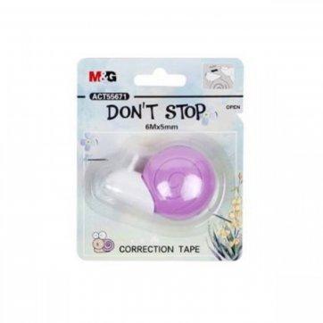 M&G ΔΙΟΡΘΩΤΙΚΗ ΤΑΙΝΙΑ DON'T STOP 5mmx6m M&G 55671 ΜΩΒ