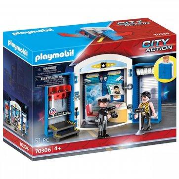 PLAYMOBIL PLAYMOBIL PLAY BOX ΑΣΤΥΝΟΜΙΚΟ ΤΜΗΜΑ 70306