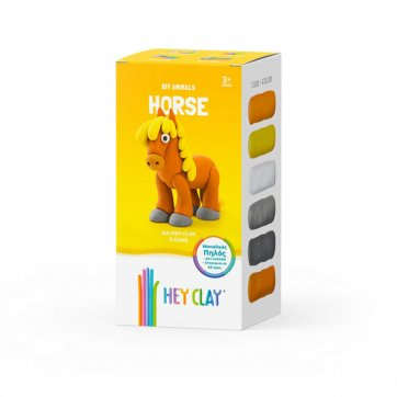 HEY CLAY ΚΑΤΑΣΚΕΥΕΣ ΑΠΟ ΠΗΛΟ HEY CLAY - CLAYMATES HORSE