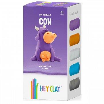 HEY CLAY ΚΑΤΑΣΚΕΥΕΣ ΑΠΟ ΠΗΛΟ HEY CLAY - CLAYMATES COW