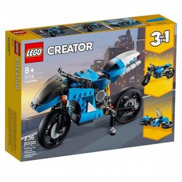 LEGO LEGO CREATOR 3 IN 1 SUPERBIKE ΜΗΧΑΝΗ ΔΡΟΜΟΥ 31114